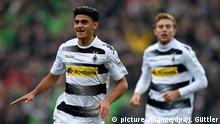 Deutschland Mönchengladbach gegen Hoffenheim