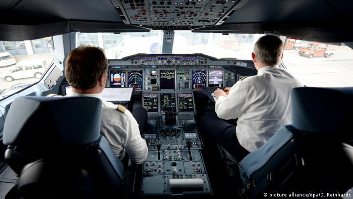 Deutschland Lufthansa Piloten Streik (picture alliance/dpa/D. Reinhardt)