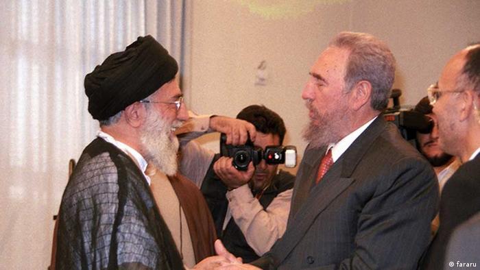 Iran Fidel Castro und Ali Khamene (fararu)