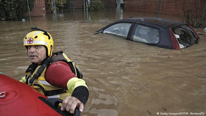 Flooding in northern Italy in November 2016 (Getty Images/AFP/M. Bertorello)