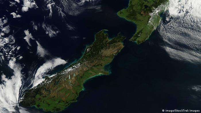 Neuseeland Satellitenbild