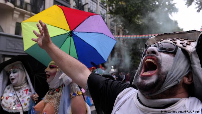 Argentinien XXV-Ausgabe des LGBTIQ Pride Parade in Buenos Aires (Getty Images/AFP/A. Pagni)