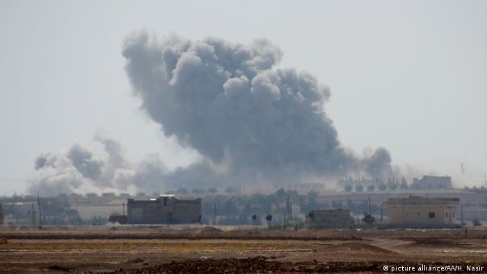 Symbolbild Syrien IS-Giftgasangriff