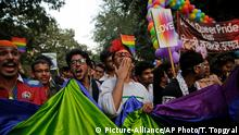 Indian gay rights parade (Picture-Alliance/AP Photo/T. Topgyal)