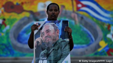 Kuba | Trauer um Fidel Castro (Getty Images/AFP/Y. Lage)