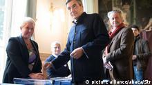 Frankreich Konservative wählen ihren Präsidentschaftskandidaten Francois Fillon