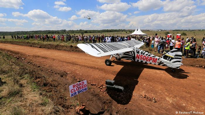 Kenia Vintage Air Rally Ankunft in Nairobi (Reuters/T.Mukoya)
