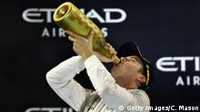 Formel 1   Grand Prix Abu Dhabi   Weltmeister Nico Rosberg