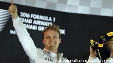Formel 1 Vereinigte Arabische Emirate in Abu Dhabi - Weltmeister Nico Rosberg, Deutschland