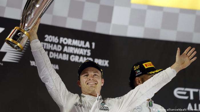 Formel 1 Vereinigte Arabische Emirate in Abu Dhabi - Weltmeister Nico Rosberg, Deutschland (picture-alliance/dpa/V. Xhemaj)