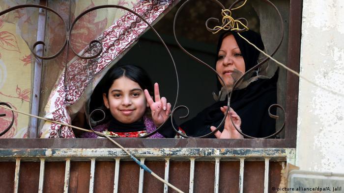 Irak weitere Stadteile Mossuls vom IS befreit (picture alliance/dpa/A. Jalil)