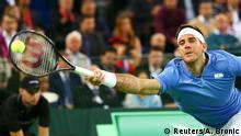 Kroatien Davis Cup finale zwischen Kroatien und Argentinien