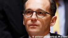 Deutschland Minister für Jusitz und Verbraucherschutz Heiko Maas
