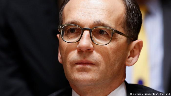 German Justice Minister and Social Democrat (SPD) Heiko Maas