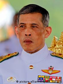 Close-up photo of Thailand's King Vajiralongkorn (picture-alliance/dpa/R. Yongrit)