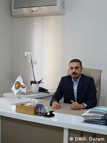 Türkei Diyarbakır Ahmet Özmen Präsident der Rechtsanwaltskammer (DW/A. Duram)