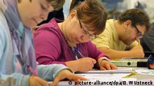 Analphabeten-Grundkurs an der Volkshochschule