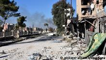 Syrien Aleppo östliches Masaken Hanano Gebiet