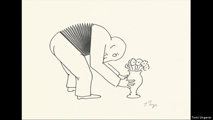 Sketch by Tomi Ungerer (Tomi Ungerer)
