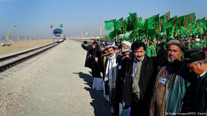 Turkmenistan Imamnazar Eröffnung neuer Bahnlinie Afghanistan Turkmenistan