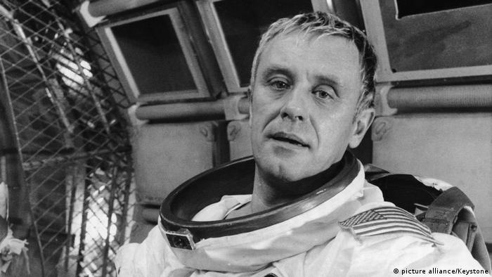 Horst FRANK, in dem Film 'Operation Ganymed', 1977 (picture alliance/Keystone)