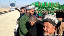 Turkmenistan Einweihung Eisenbahnstrecke nach Afghanistan