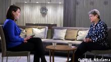 DW Interview mit Swetlana Gannuschkina