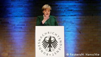 Deutschland Bundesnachrichtendienst feiert 60-jähriges Bestehen Festakt Angela Merkel