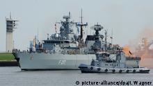 Fregatte Bayern kehrt nach Atalanta-Einsatz zurück