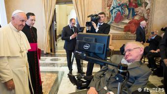 Papa Franjo i Stephen Hawking u Vatikanu