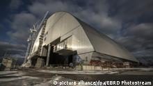 Ukraine Sarkophag für Tschernobyl