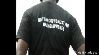 Tshirt Francophonization (Moki Kindzeka)