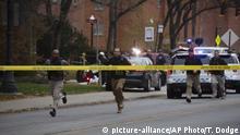 Schüsse auf dem Campus der Universität von Ohio