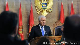 Montenegro Premierminister Dusko Markovic (Getty Images/AFP/S. Prelevic)