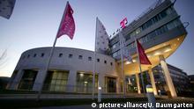 +++Nur im Rahmen der Berichterstattung zu verwenden!+++ DEUTSCHLAND, BONN, 09.12.2004, Aussenansicht: Zentrale der Deutsche Telekom AG. | Keine Weitergabe an Wiederverkäufer.