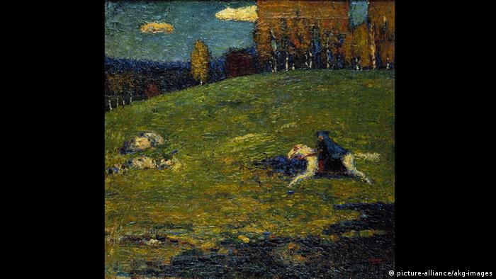 Kandinsky - The Blue Rider (1903) (picture-alliance/akg-images)