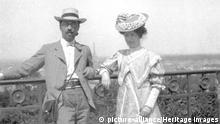 Wassily Kandinsky und Gabriele Muenter