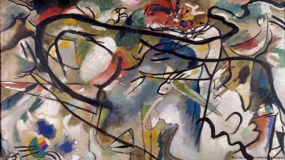 why kandinsky chose to make abstract art arts dw 02 12 2016