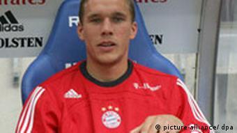 Podolski na klupi Bayerna
