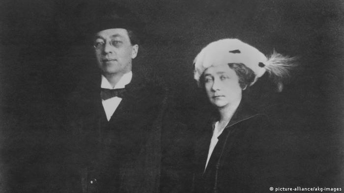 Габриэле Мюнтер и Василий Кандинский (1916)
