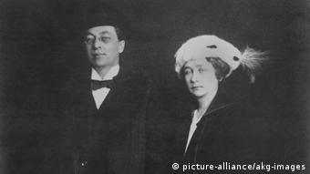 Kandinsky und Gabriele Münter (1916) (picture-alliance/akg-images)