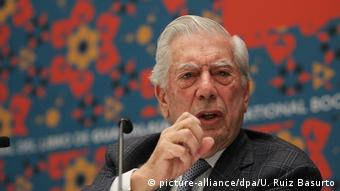 Mexiko peruanischer Nobel Literature Prize Mario Vargas Llosa in der Buchmesse von Guadalajara
