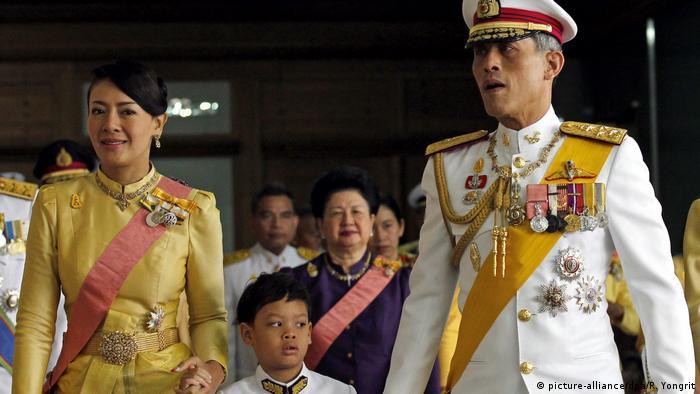 Thailand Kronprinz Vajiralongkorn (picture-alliance/dpa/R. Yongrit)