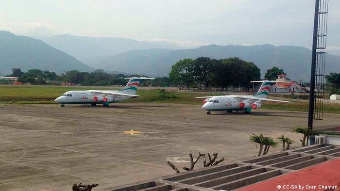 Flugzeug Chartergesellschaft Lamia Avro RJ 85 (CC-SA by Gran Chaman)