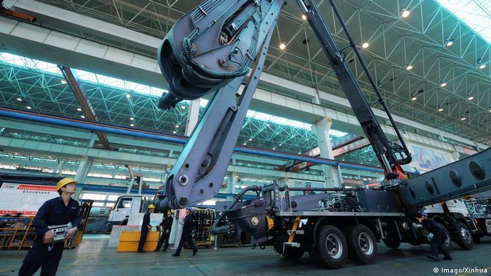 China deutscher Maschinenbau (Imago/Xinhua)