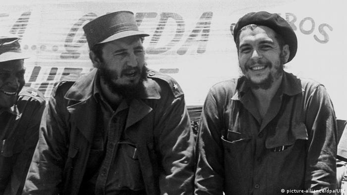 Kuba Fidel Castro historische Aufnahmen (picture-alliance/dpa/UPI)