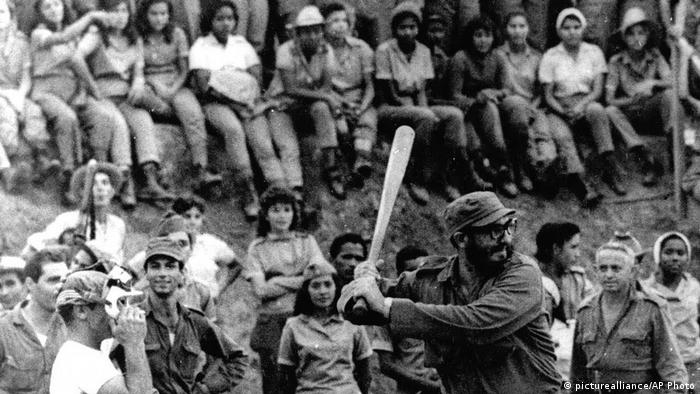 Kuba Fidel Castro historische Aufnahmen (picturealliance/AP Photo)