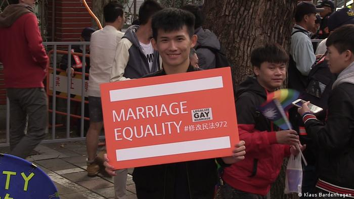 Taiwan Demonstration Homo-Ehe (Klaus Bardenhagen)