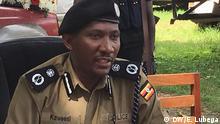 Was: Polizeipsrecher Uganda, Felix Kaweesi Wo: Kasese, Uganda Wann: 29.11.2016 Fotograf: Emmanuel Lubega, DW Kiswahili Korrespondent Uganda