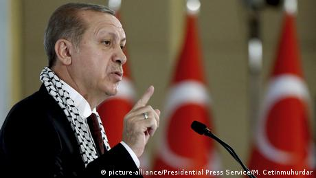 Ердоган закликав світ визнати Східний Єрусалим столицею палестинської держави